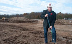 Ground broken on east Fonthill